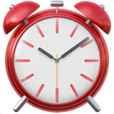 Alarm Clock Emoji on Apple macOS and iOS iPhones