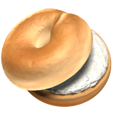 Bagel Emoji on Apple macOS and iOS iPhones