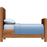 Bed Emoji on Apple macOS and iOS iPhones