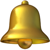 Bell Emoji on Apple macOS and iOS iPhones