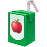 Beverage Box Emoji on Apple macOS and iOS iPhones