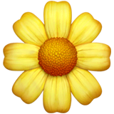 Blossom Emoji on Apple macOS and iOS iPhones