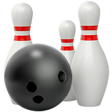 Bowling Emoji on Apple macOS and iOS iPhones
