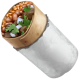 Burrito Emoji on Apple macOS and iOS iPhones