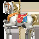 Carousel Horse Emoji on Apple macOS and iOS iPhones