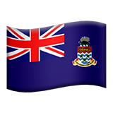 Cayman Islands Emoji on Apple macOS and iOS iPhones