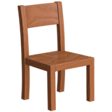 Chair Emoji on Apple macOS and iOS iPhones