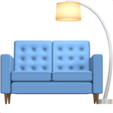Couch and Lamp Emoji on Apple macOS and iOS iPhones