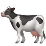 Cow Emoji on Apple macOS and iOS iPhones