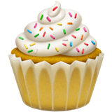 Cupcake Emoji on Apple macOS and iOS iPhones