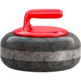 Curling Stone Emoji on Apple macOS and iOS iPhones