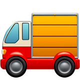 Delivery Truck Emoji on Apple macOS and iOS iPhones