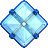 Diamond With A Dot Emoji on Apple macOS and iOS iPhones