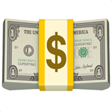 Dollar Banknote Emoji on Apple macOS and iOS iPhones