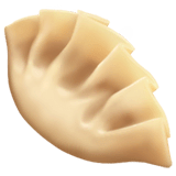 Dumpling Emoji on Apple macOS and iOS iPhones