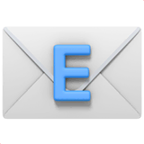 E-mail Emoji on Apple macOS and iOS iPhones