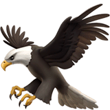 Eagle Emoji on Apple macOS and iOS iPhones