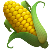 Ear of Corn Emoji on Apple macOS and iOS iPhones