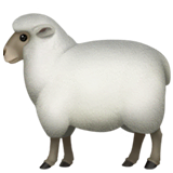 Ewe Emoji on Apple macOS and iOS iPhones