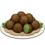 Falafel Emoji on Apple macOS and iOS iPhones