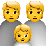 Family Emoji on Apple macOS and iOS iPhones