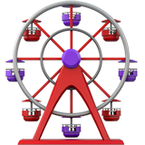 Ferris Wheel Emoji on Apple macOS and iOS iPhones
