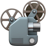 Film Projector Emoji on Apple macOS and iOS iPhones
