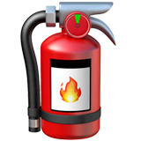 Fire Extinguisher Emoji on Apple macOS and iOS iPhones
