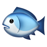 Fish Emoji on Apple macOS and iOS iPhones