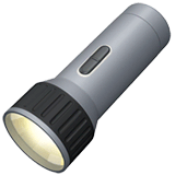 Flashlight Emoji on Apple macOS and iOS iPhones