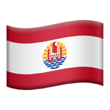 French Polynesia Emoji on Apple macOS and iOS iPhones