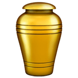 Funeral Urn Emoji on Apple macOS and iOS iPhones