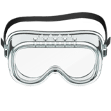 Goggles Emoji on Apple macOS and iOS iPhones