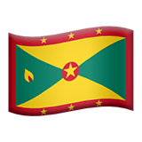 Grenada Emoji on Apple macOS and iOS iPhones