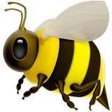 Honeybee Emoji on Apple macOS and iOS iPhones