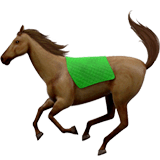 Horse Emoji on Apple macOS and iOS iPhones