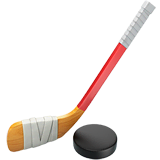 Ice Hockey Emoji on Apple macOS and iOS iPhones