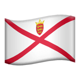 Flag: Jersey Emoji on Apple macOS and iOS iPhones