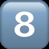 Keycap: 8 Emoji on Apple macOS and iOS iPhones