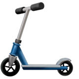 Kick Scooter Emoji on Apple macOS and iOS iPhones
