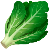 Leafy Green Emoji on Apple macOS and iOS iPhones