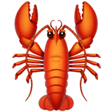 Lobster Emoji on Apple macOS and iOS iPhones