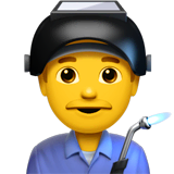 👨‍🏭 Man Factory Worker Emoji — Meaning, Copy & Paste