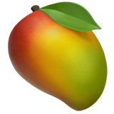 Mango Emoji on Apple macOS and iOS iPhones