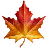 Maple Leaf Emoji on Apple macOS and iOS iPhones