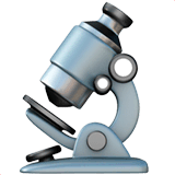 Microscope Emoji on Apple macOS and iOS iPhones