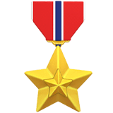 Military Medal Emoji on Apple macOS and iOS iPhones