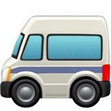 Minibus Emoji on Apple macOS and iOS iPhones