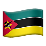 Mozambique Emoji on Apple macOS and iOS iPhones