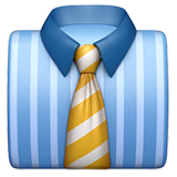 Necktie Emoji on Apple macOS and iOS iPhones